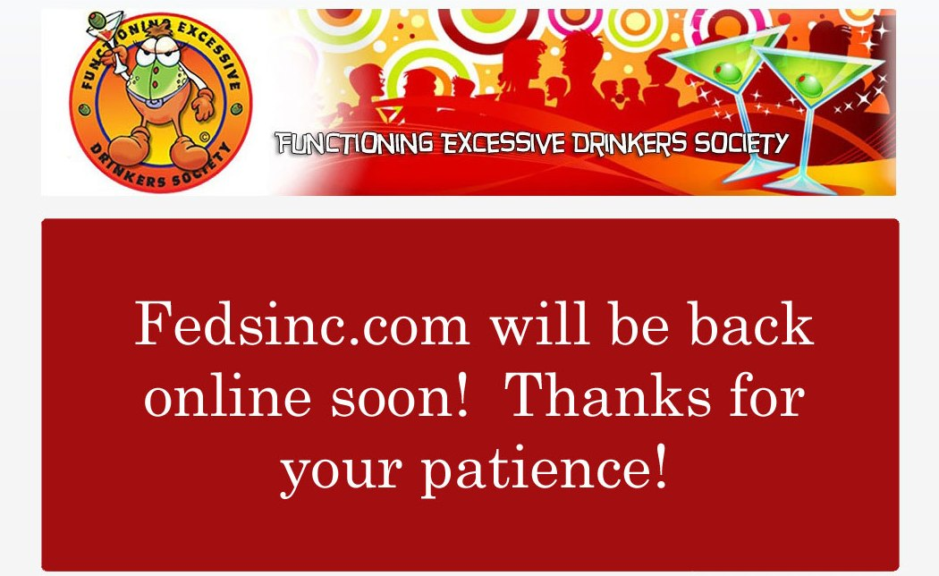 FEDSinc.com Welcome!  Temporarily down for maintenance! Check back soon!